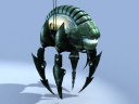 Alien Bug Render 4