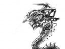 Alien Hover Battlesuit