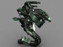 Alien Hover Battlesuit Render