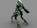 Centaur Battlesuit Rendered