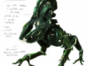 Centaur Battlesuit With Notes