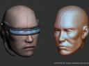 Nanomage Male Head