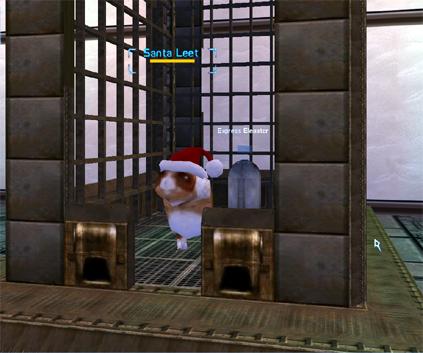 Santa Leet Elevator